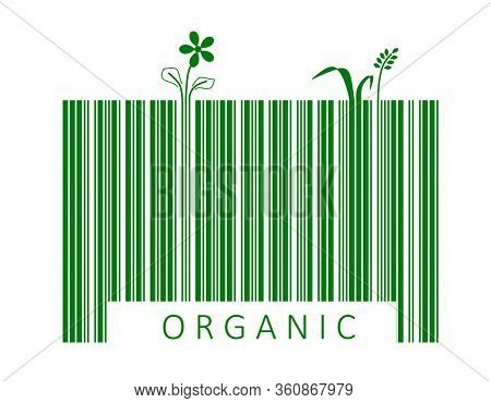 Bar code for organic product