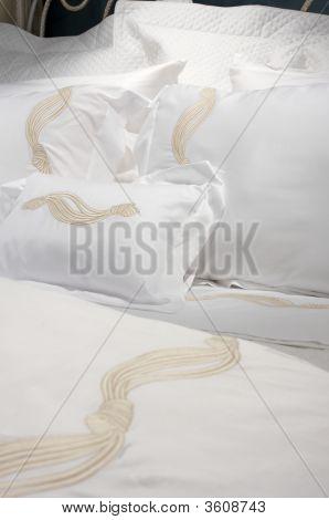 Luxurious White Bedding