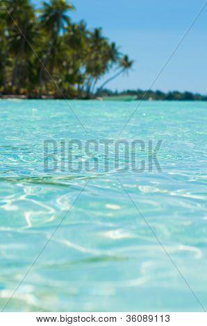 Paradise turquoise water