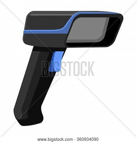 Scanner Vector Icon.cartoon Vector Icon Isolated On White Background Scanner.