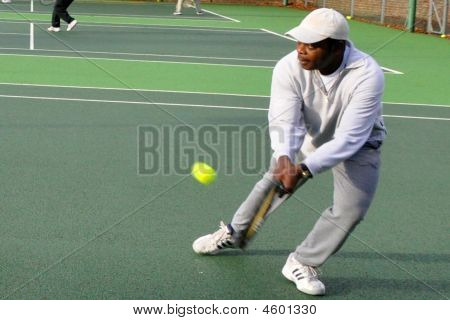 Tennis  Double Handed Backhand