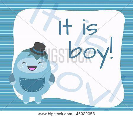 It is boy!