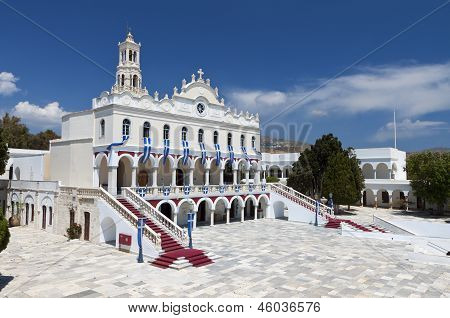 Madonna of Tinos island in Greece