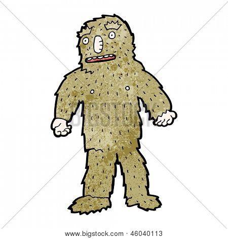 cartoon bigfoot