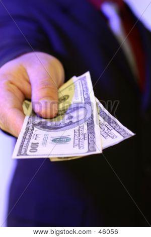 bribery poster