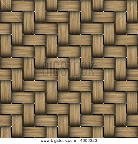 Intertwined Wood Pattern
