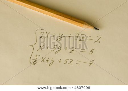 Mathematical Formula