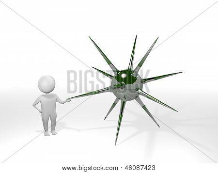 3D Man - Mine - Green