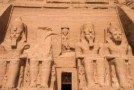 Statues At Abu Simbel
