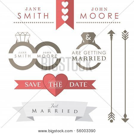 Wedding Accessories and Icons