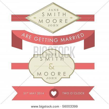 Wedding Accessory Tags