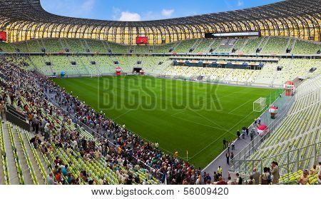 Stadium In Gdansk, Poland