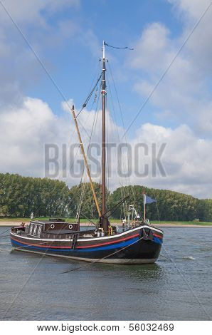 traditional Boat,Rhineland,Germany