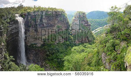 Lehr's Falls Panorama