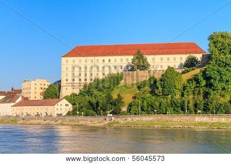 Linz, View On Castle, Upper Austria