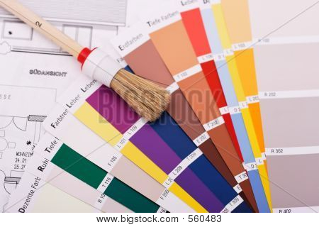 Brush An Color Swatches