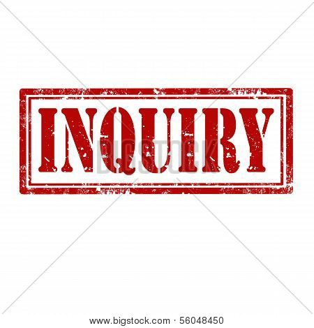 Inquiry-stamp