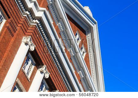 Colonial Red Brick Architecture (usa)