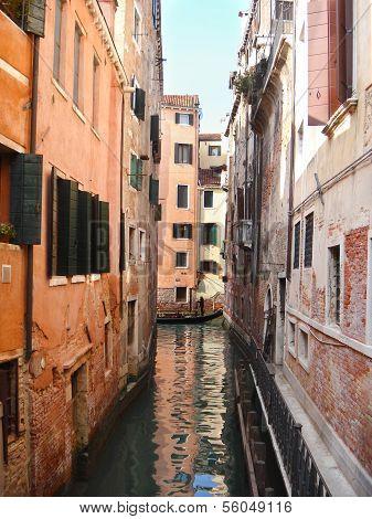 The Cityscape With Gondola