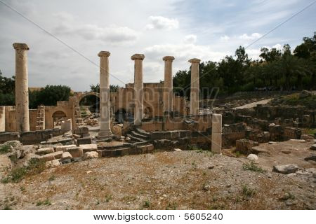 Row of Pillars at Bet Shean