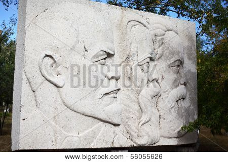 Monument of Lenin, Marx and Engels