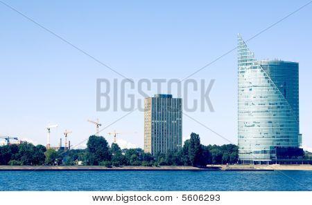 Riga city view