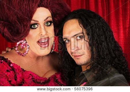 Transvestite With Male Partner