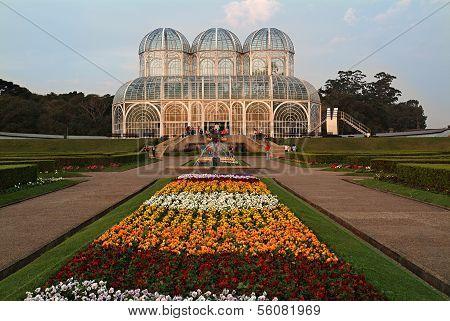 Jardim Botanico Public Botanical Garden Curitiba / Brazil poster