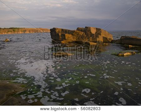 Bulgarian Seaside Landscapes - Beautiful Coastline Near Chernomorets