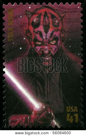 Star Wars Us Postage Stamp