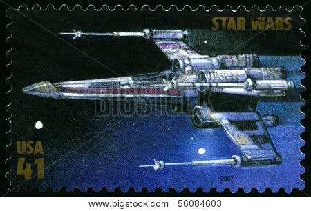 Star Wars Us Postage Stamp