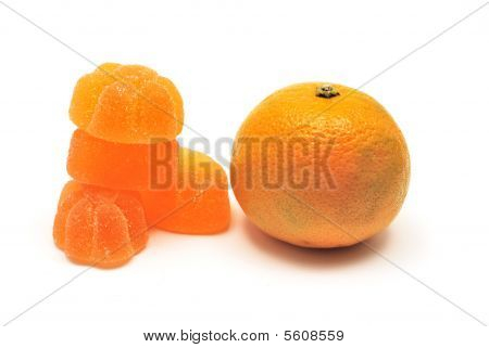 Tangerine And Fruit Jelly