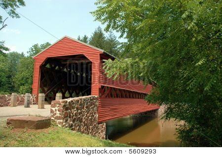 Sachs Covered Bridge in near Gettysburg, Pennsylvania