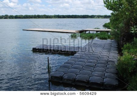 Recycled Boat Dock