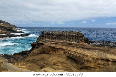 Tropical View, Lanai Lookout, Hawaii