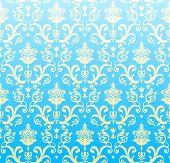 seamless background azure vector wallpaper Pattern Background poster
