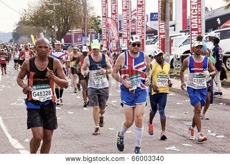 British Runner Competing In Comrades Ultra Marathon