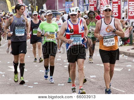 Many Runners Competing In Comrades Ultra Marathon
