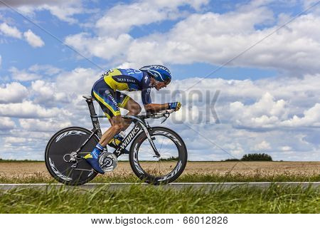 The Cyclist Michael Morkov