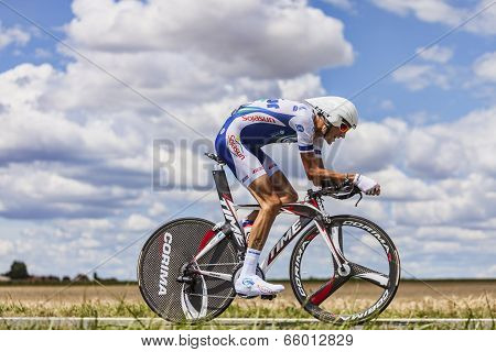 The Cyclist Brice Feillu