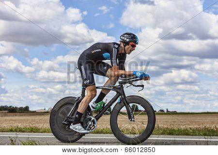 The Cyclist Christian Knees