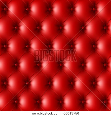 Seamless leather upholstery pattern. Vector.
