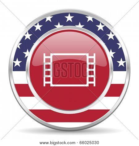 movie american icon, usa flag