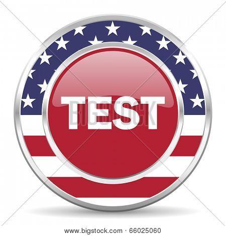 test american icon, usa flag