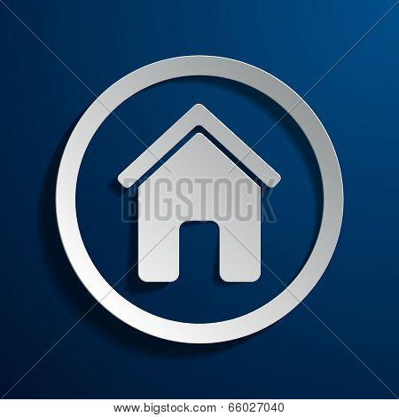 illustration of the symbolic image of the house