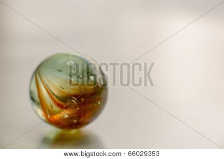 Marble On White Background