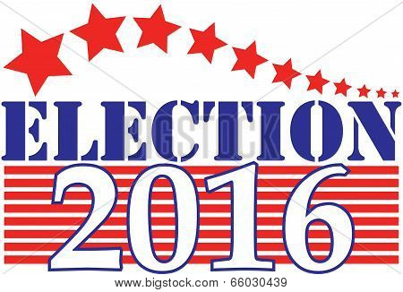Election 2016 American Graphic