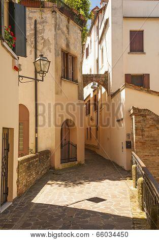 treviso street, italy