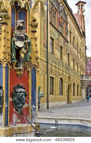 Medieval City Fountain