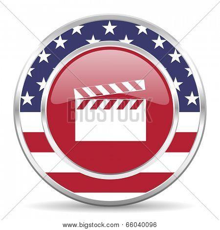 video american icon, usa flag